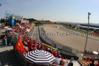 Tribune N, GP Barcelone<br />Circuit de Catalogne Montmelo<br />Grand Prix de Catalogne motos